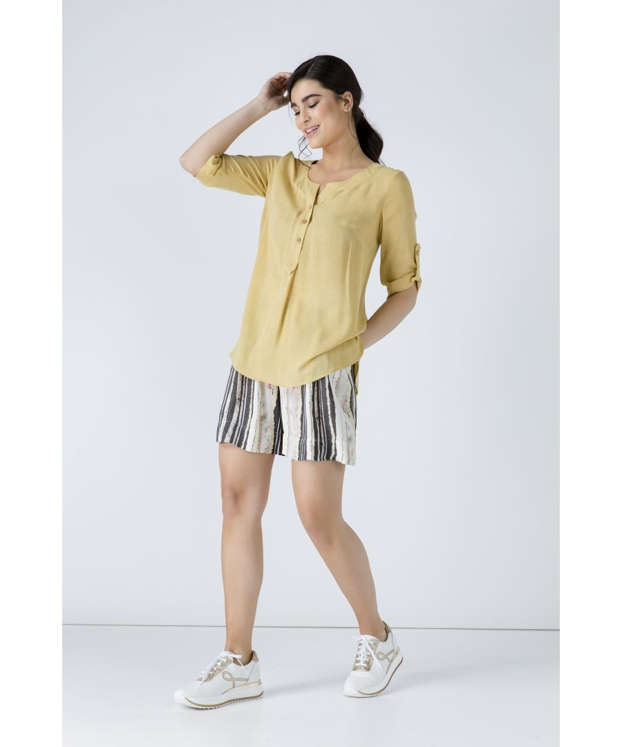 Image for Linen Look Blouse