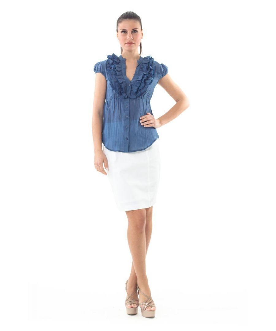 Image for Sleeveless Ruffle Detail Top