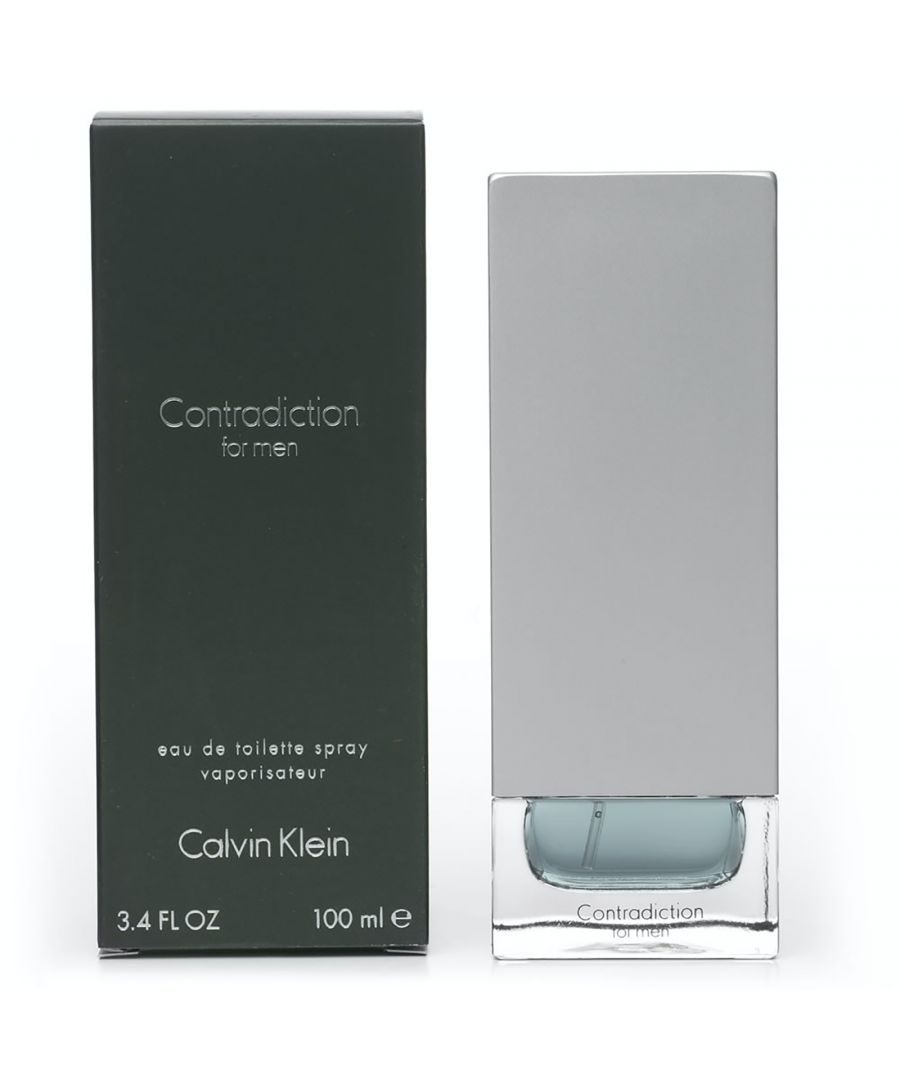 Image for Calvin Klein Contradiction Eau De Toilette 100Ml Spray