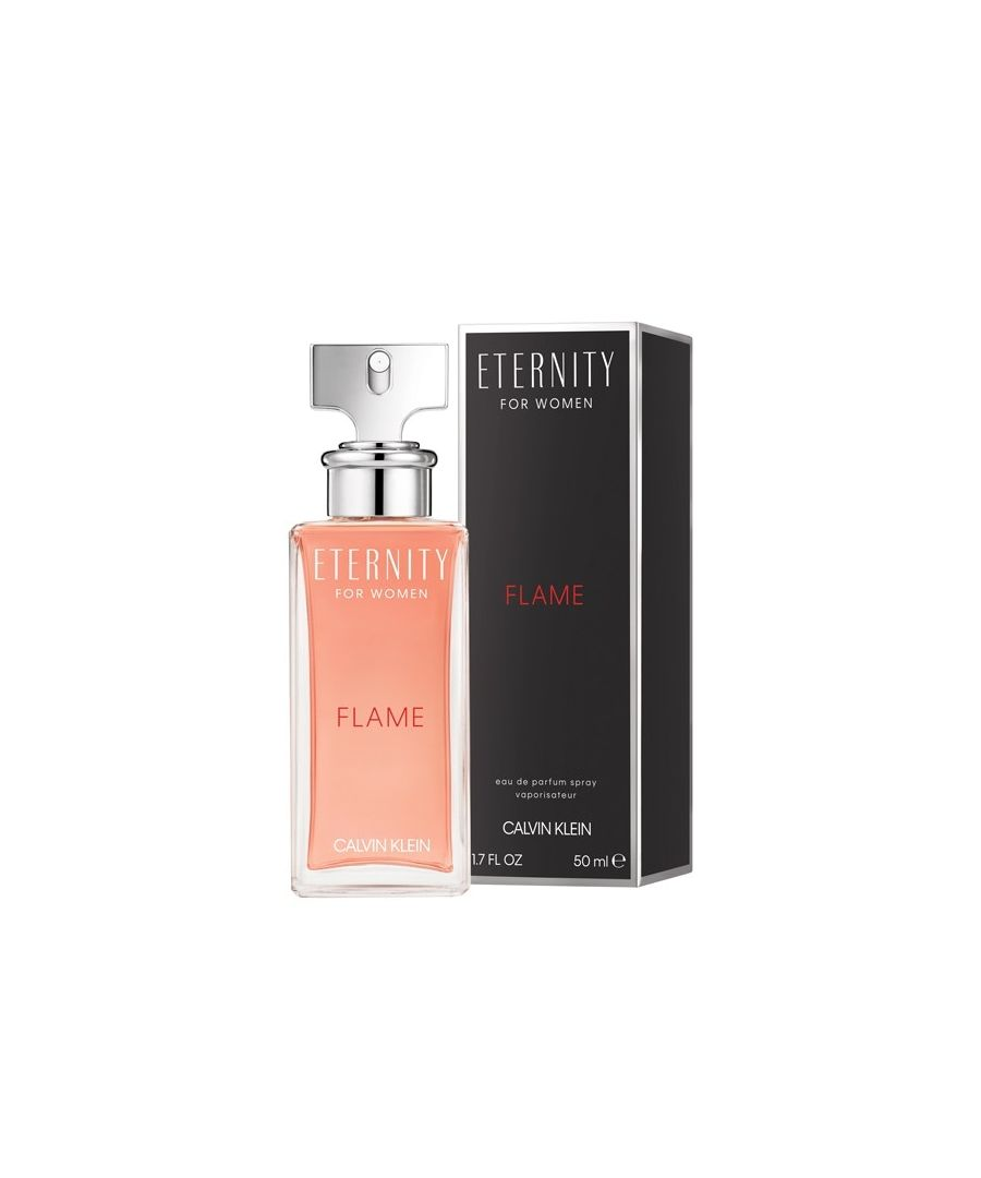 Image for Calvin Klein Eternity Flame Women Eau De Parfum Spray 50Ml