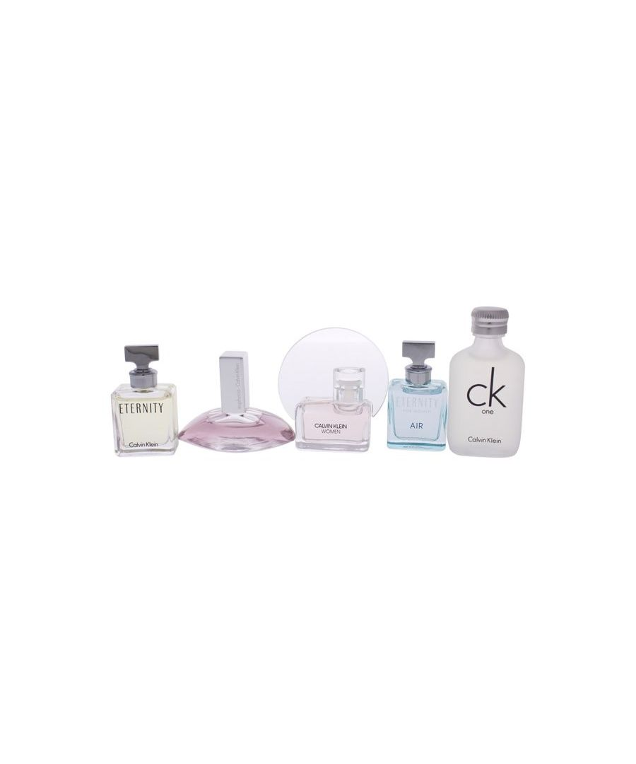 Image for Calvin Klein Women Mini Coffret Gift Set 5Pc Et And Eup And Ckw And Etair And Ck1