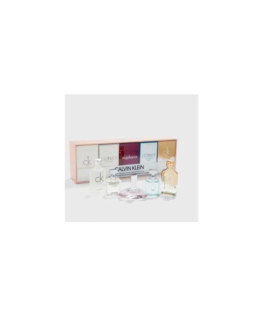 Image for Calvin Klein Women Mini Coffret Set 5Pc Ck1+Etw+Eup+Eta+Ckg