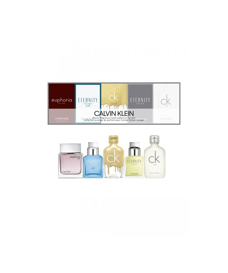 Image for Calvin Klein Mini Gift Set 5 X Eau De Toilette 10Ml Ck1 Etn Ckg Etn Air Eup