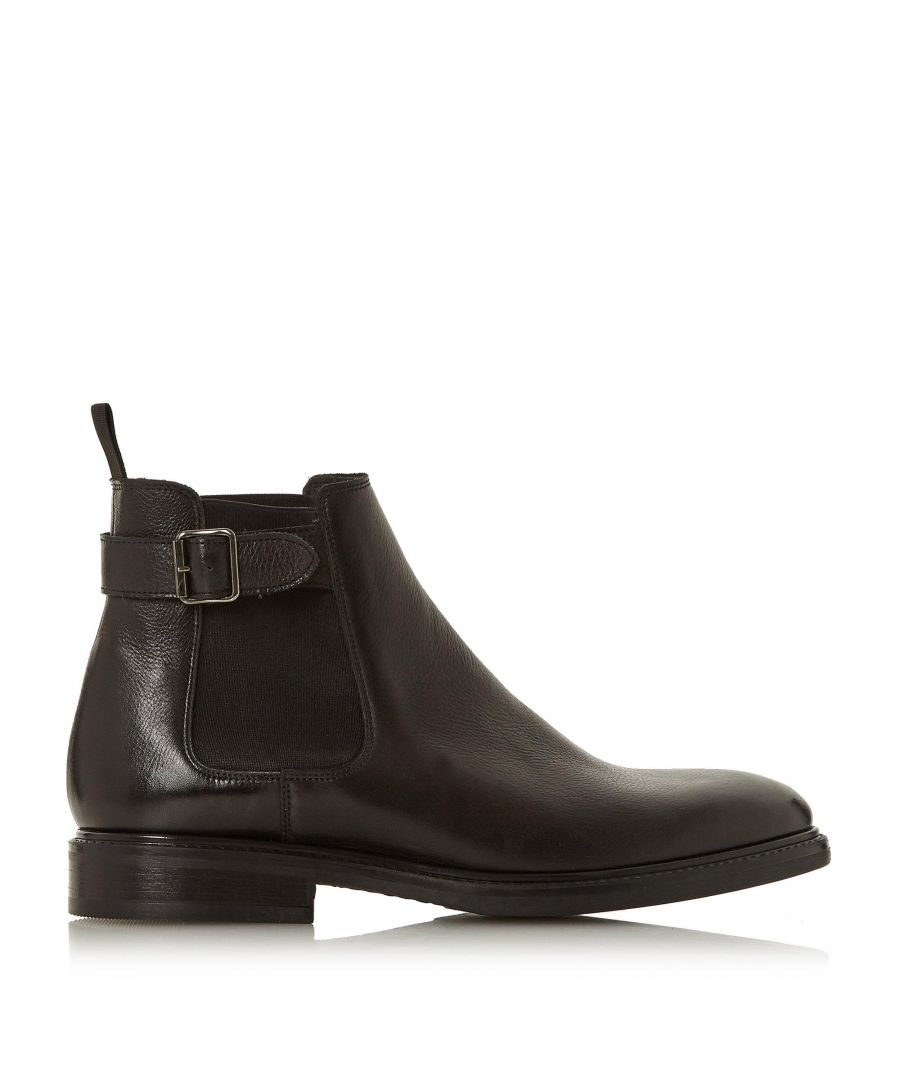 Image for Bertie Mens CAMROD Buckle Detail Chelsea Boots