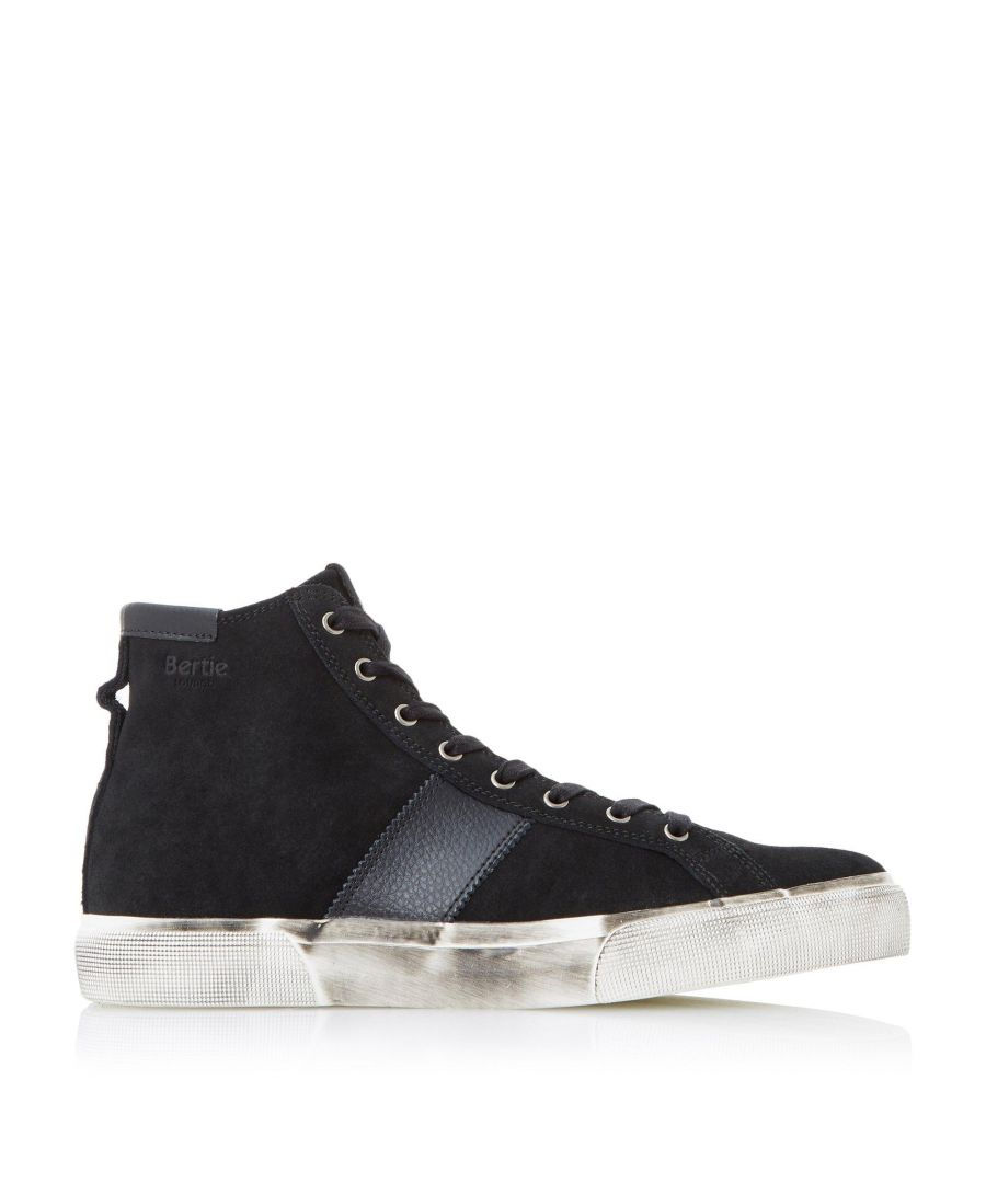 Image for Bertie Mens CANISTER Lace-Up High Top Trainers