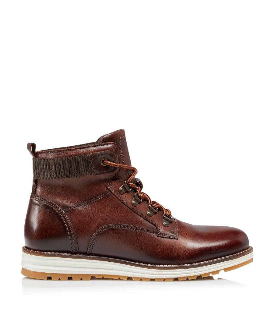 Image for Bertie Mens CANNONS Casual Wedge Lace Up Hiker Boots