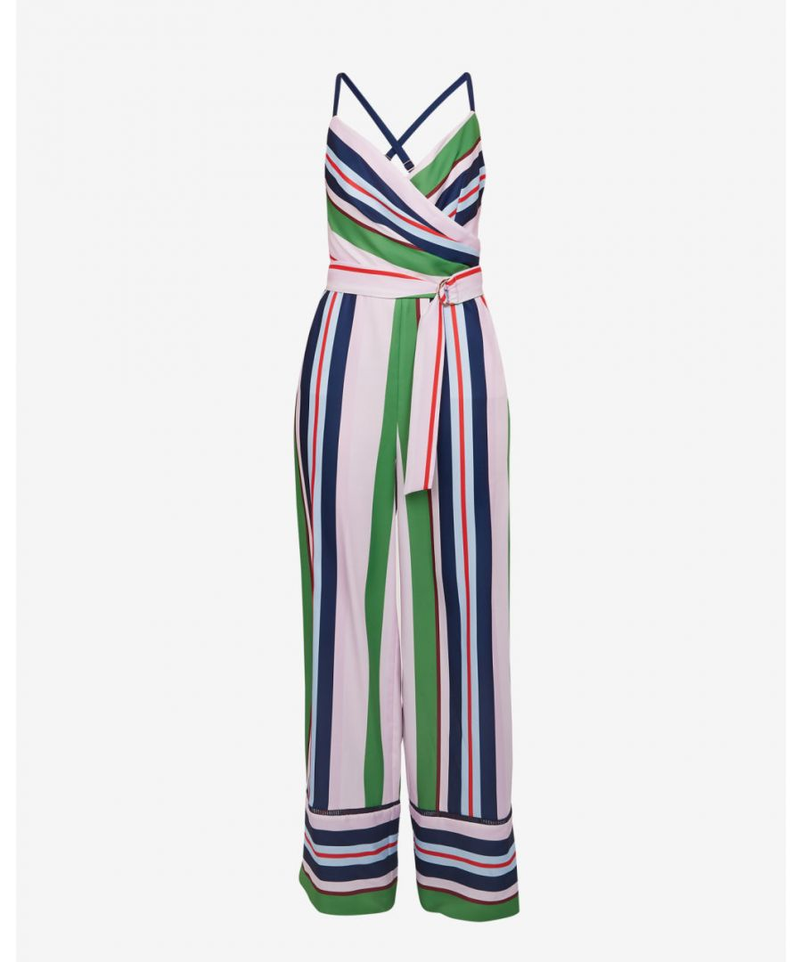 Image for Ted Baker Canpala Bay Of Honour Jumpsuit, Pale Pink