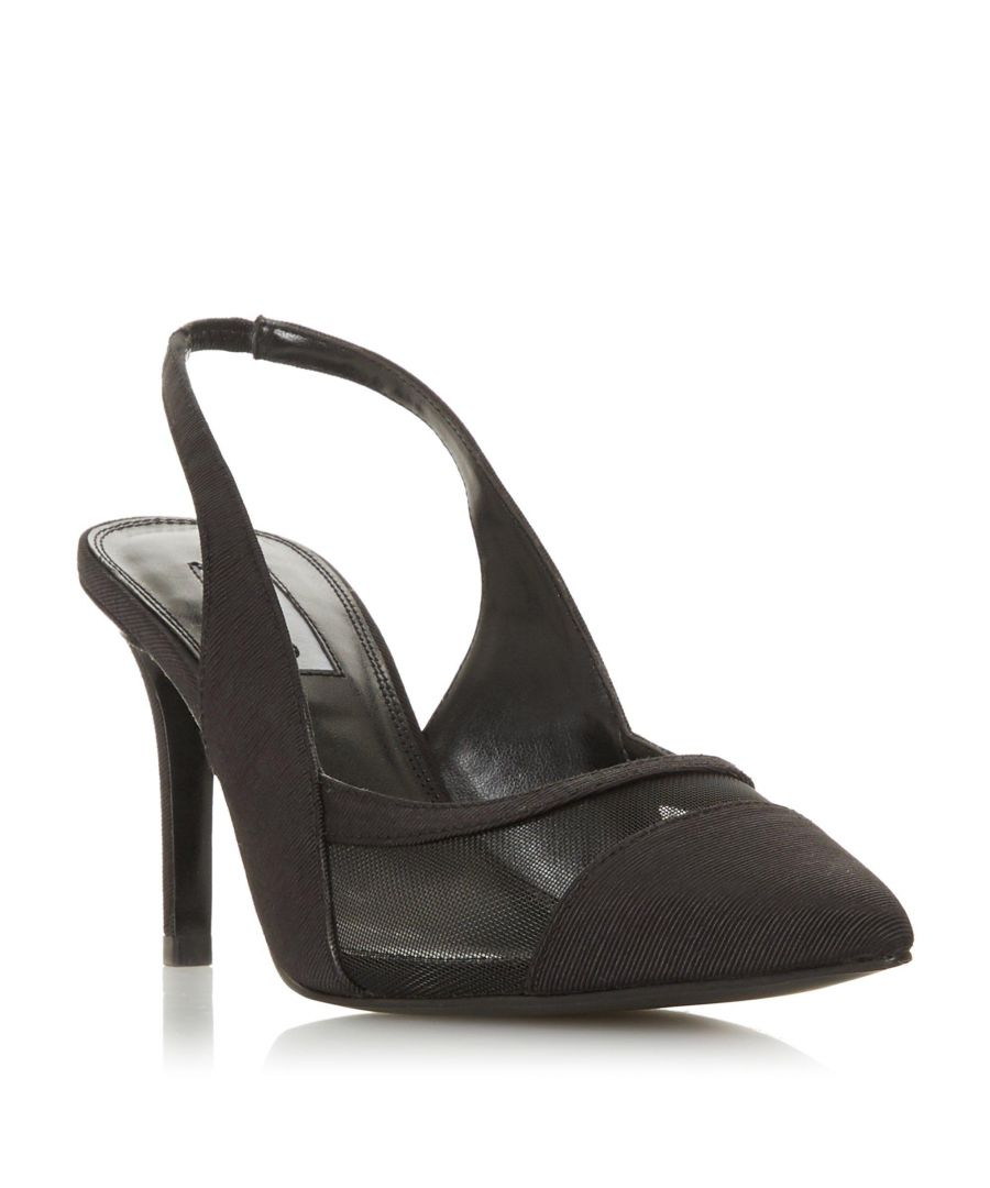 Image for Dune Ladies CARIN Slingback Mid Heel Court Shoe