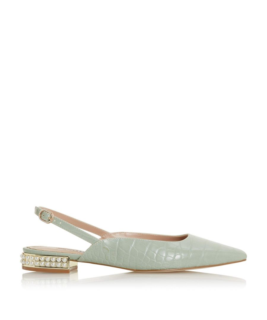 Image for Dune Ladies CARMEN Embellished Slingback Court Shoes