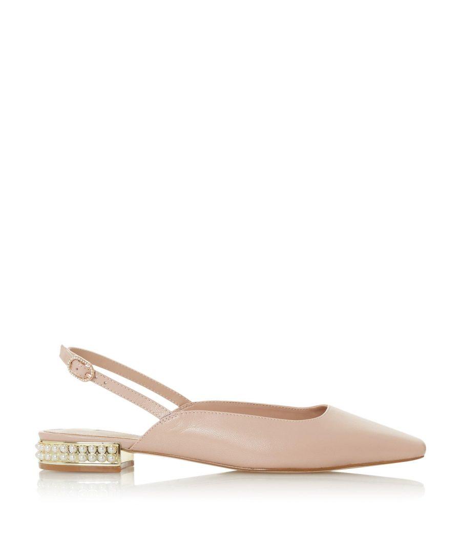 Image for Dune Ladies CARMEN Embellished Slingback Court Shoes