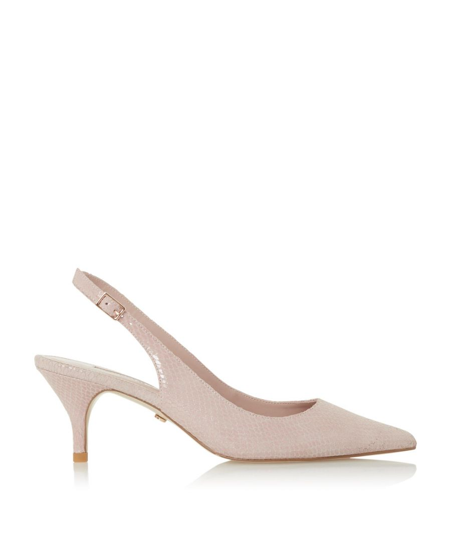 Image for Dune Ladies CARMILLA Pointed Toe Slingback Court Shoes