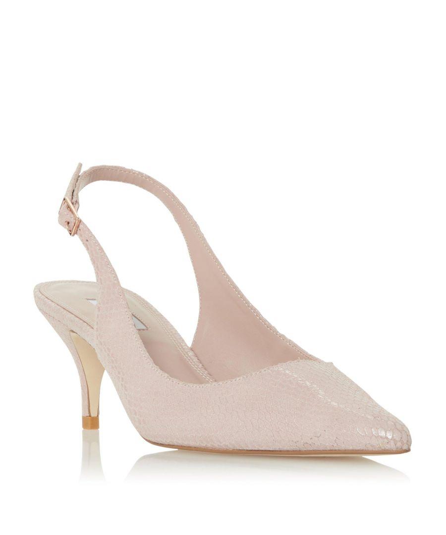 Image for Dune Ladies CARMILLA Pointed Toe Slingback Court Shoe