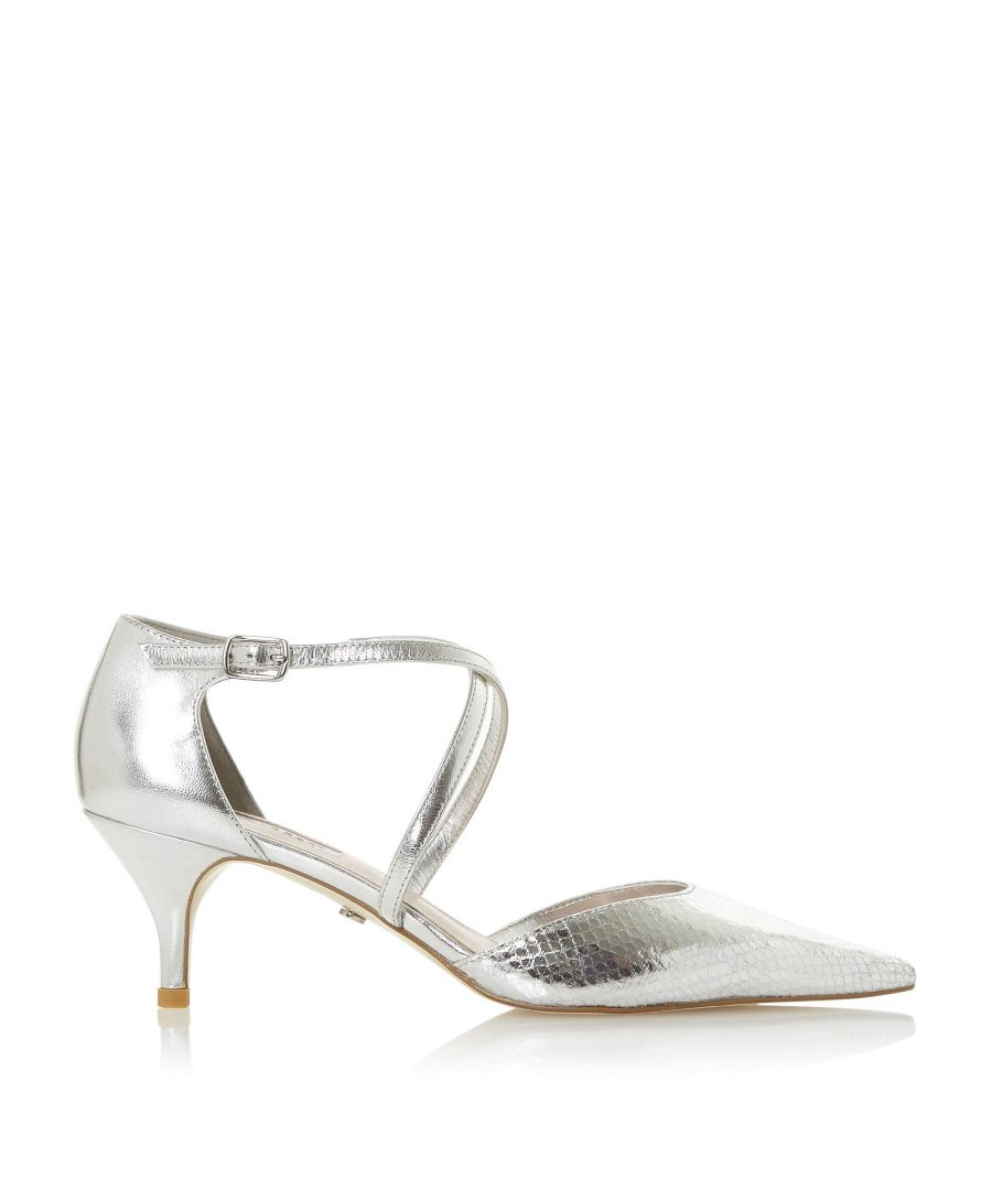Image for Dune Ladies CARTA Cross Over Strap Court Shoes