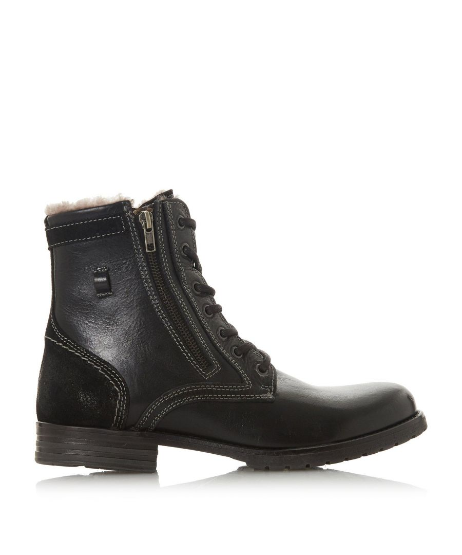 Image for Dune Mens CASCADE Shearling Lined Lace Up Boots
