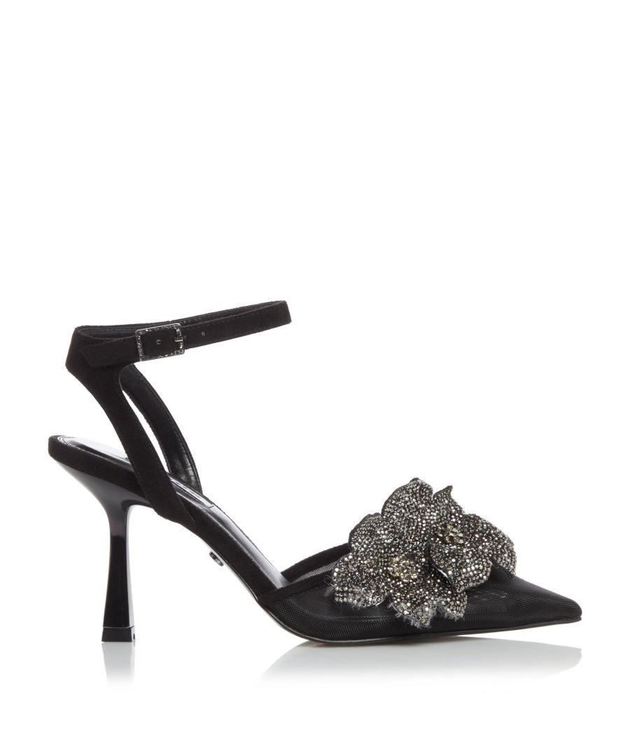 Image for Dune Ladies CASSIA Crystal Mesh Court Shoes