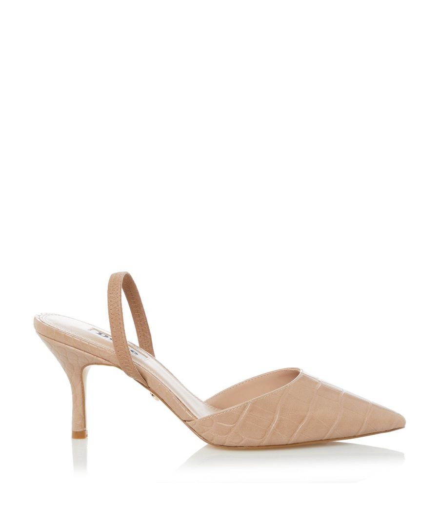 Image for Dune Ladies CATRINAA Pointed Toe Court Shoes