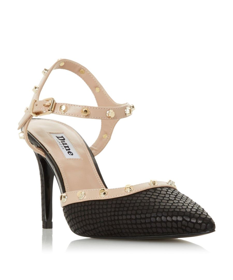 Image for Dune Ladies CAYLEE Studded Pointed Court Shoe