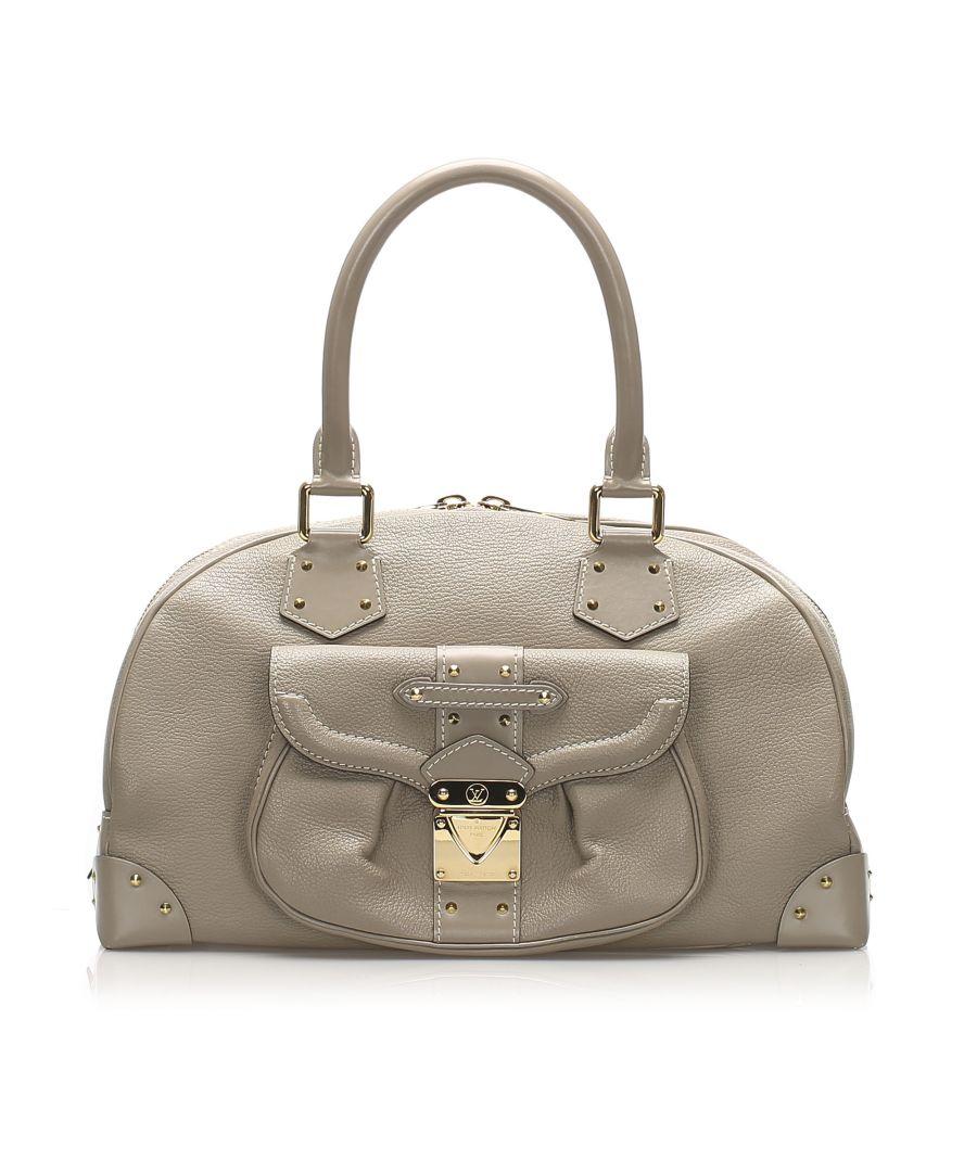 Image for Vintage Louis Vuitton Suhali Le Superbe Gray