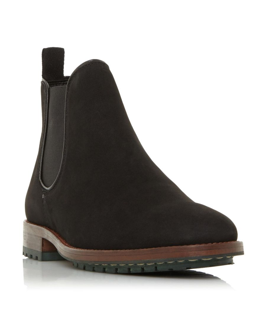 Image for Dune Mens CEDARS Cleated Sole Chelsea Boot