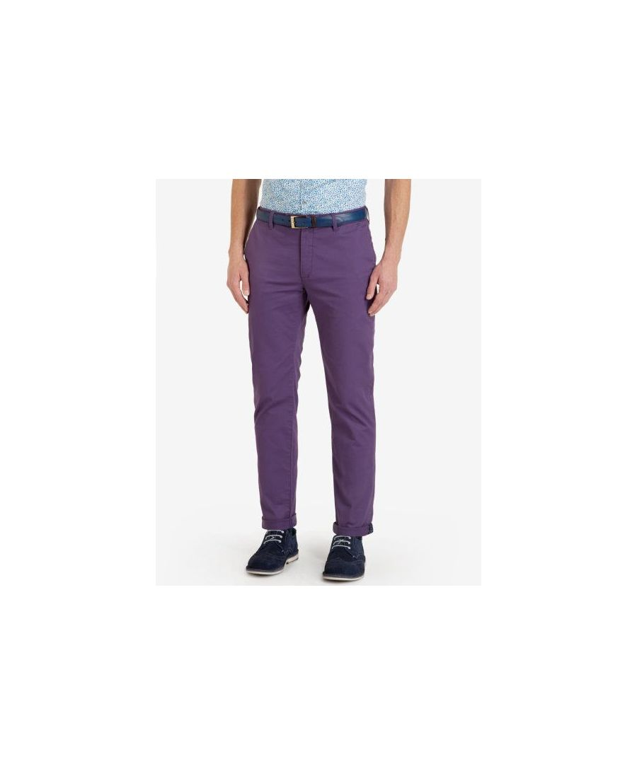 Image for Ted Baker Chaade Classic Fit Chinos, Deep Purple