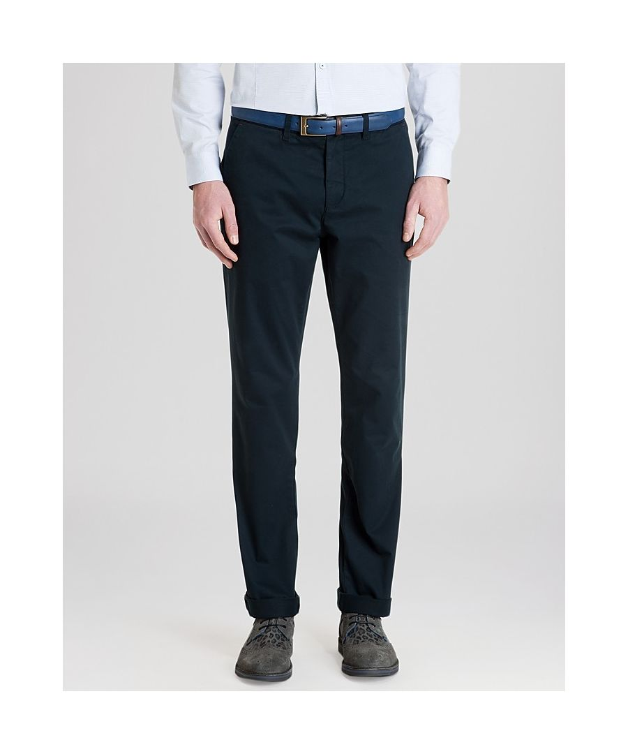 Image for Ted Baker Chaade Classic Fit Chinos, Navy