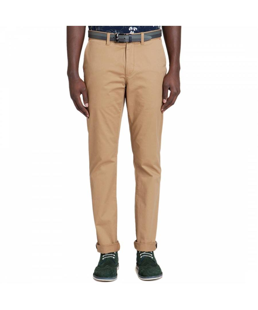 Image for Ted Baker Chaade Classic Fit Chinos, Tan