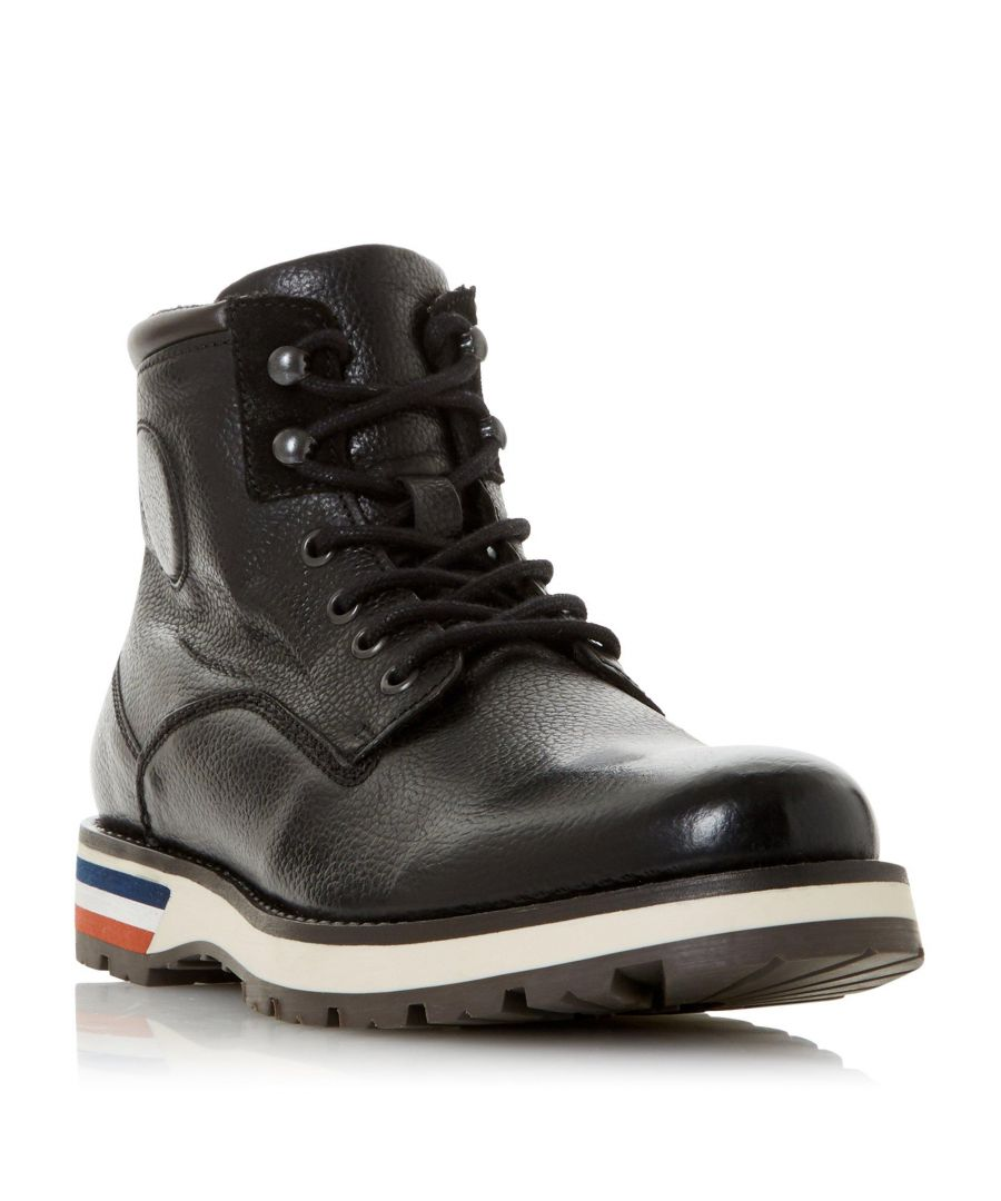 Image for Dune Mens CHALLENGES Contrast Sole Hiker Boot