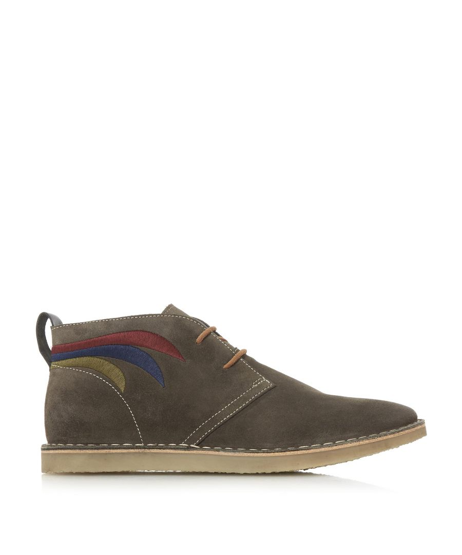 Image for Bertie Mens CHALMER Embroidered Chukka Boots