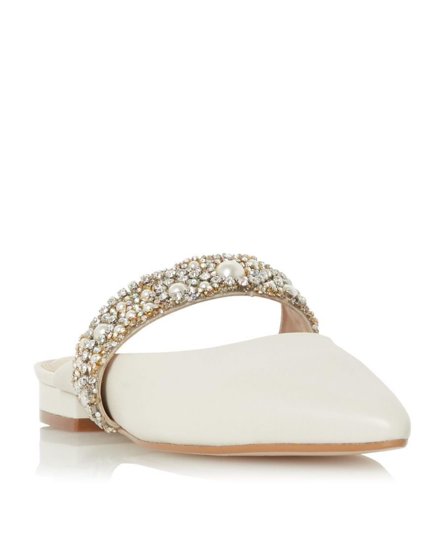 Image for Dune Ladies CHANDELIER Jewel Strap Mule