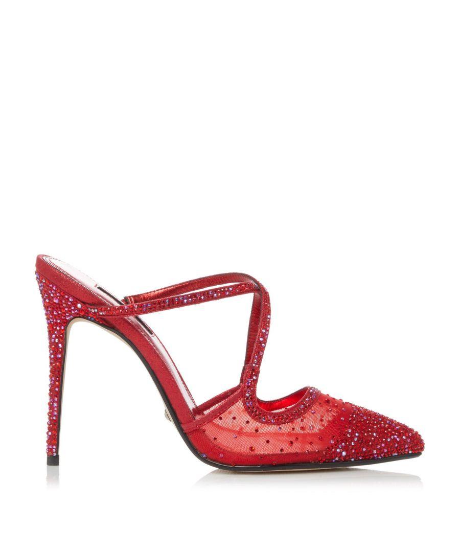 Image for Dune Ladies CHARISMA Embellished High Heel Court Shoes