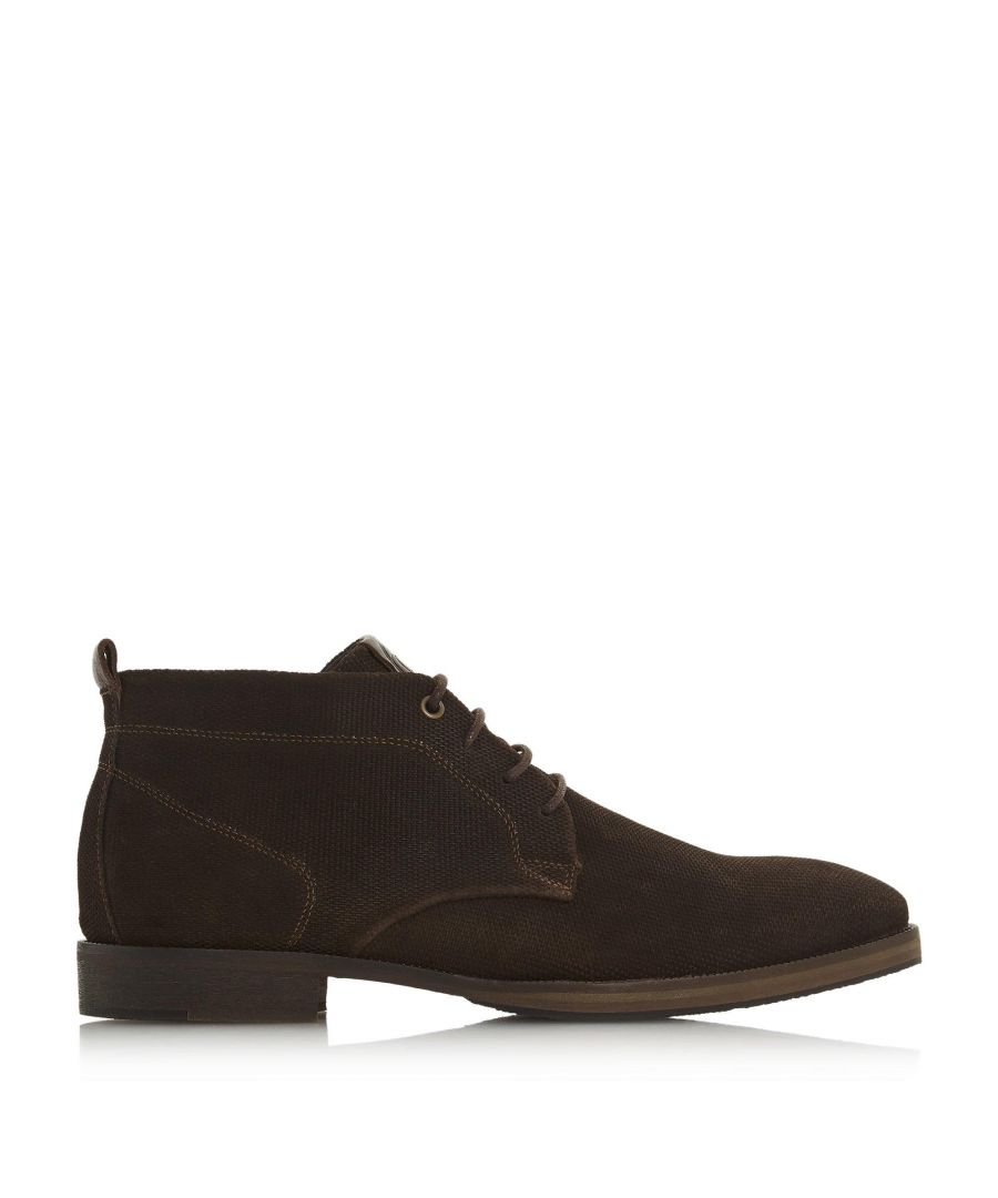 Image for Dune Mens CHEDDAR Suede Chukka Boots