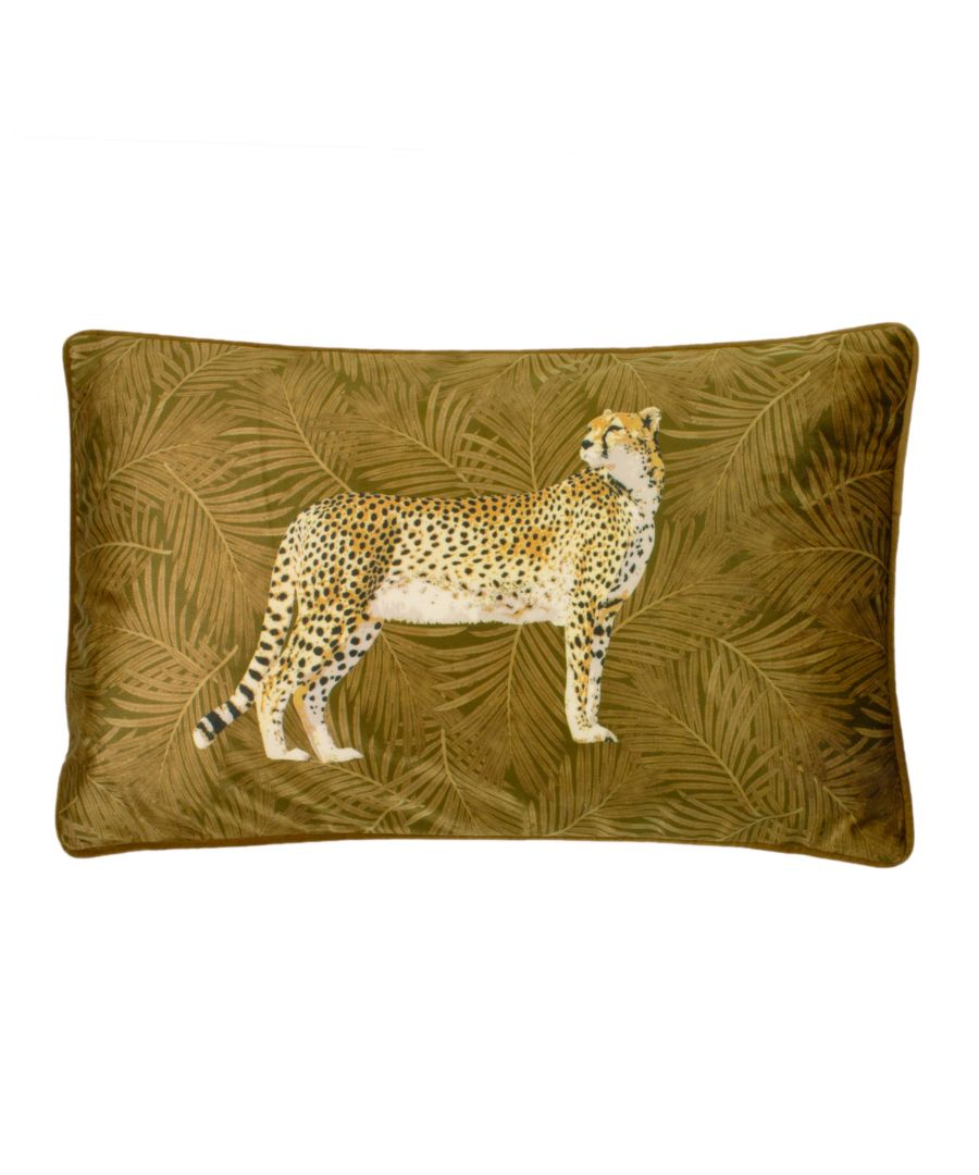 Image for Cheetah Forest Cushion