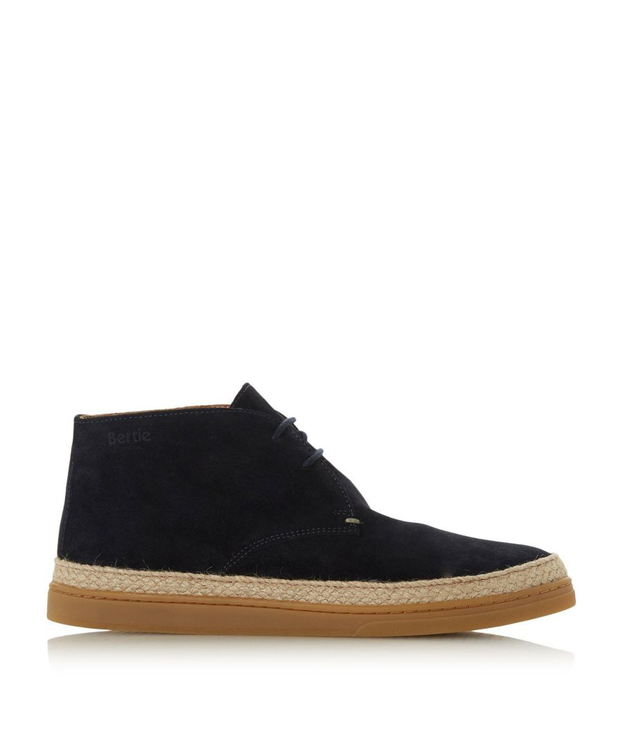 Image for Bertie Mens CHELMER Suede Espadrille Chukka Boots