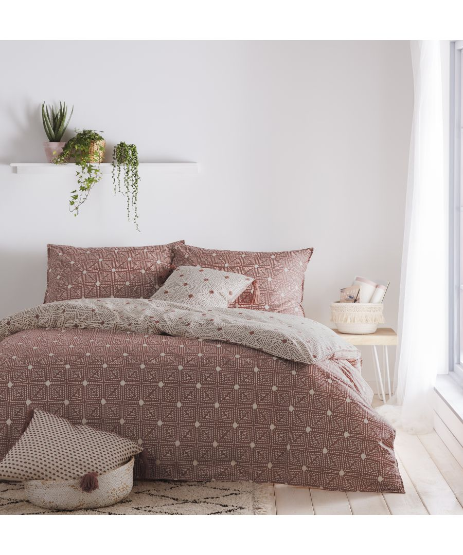 Image for Chia SKing Duvet Set Red Clay