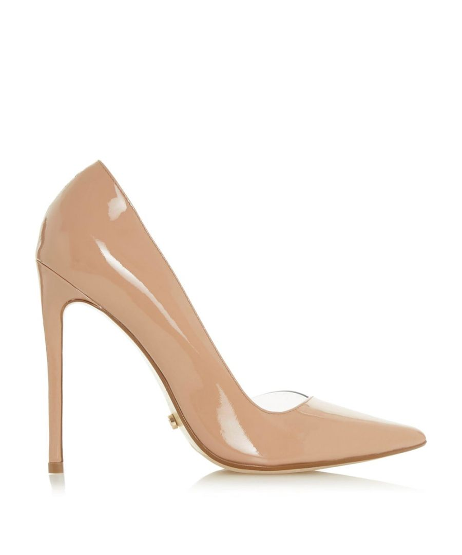 Image for Dune Ladies CHRISTYNA Transparent Open D'Orsay Court Shoes