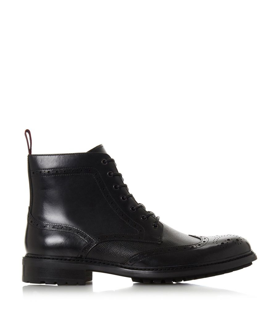 Image for Dune Mens CHRONICAL Lace Up Brogue Boots