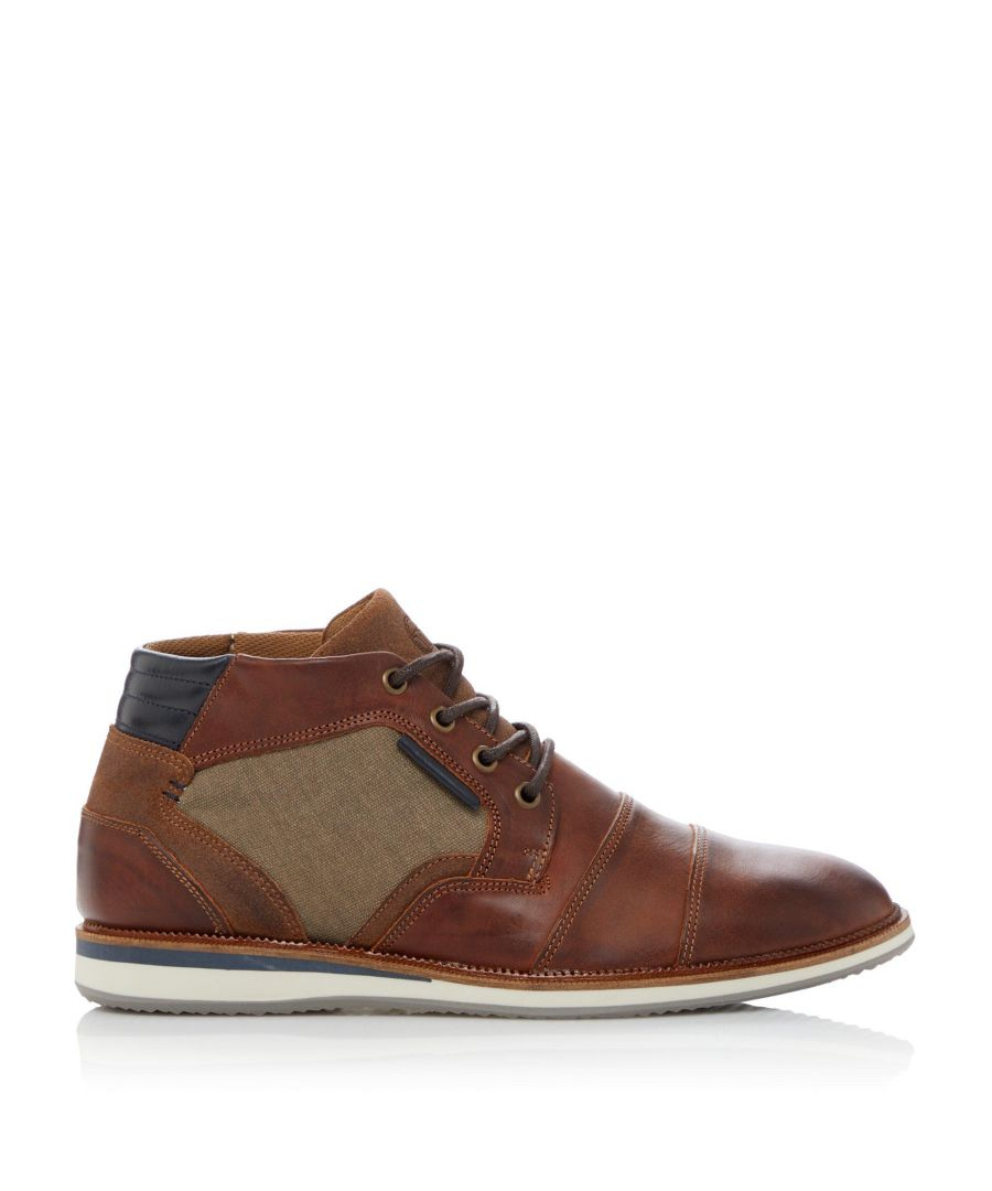 Image for Dune Mens CIVIC Casual Wedge Sole Ankle Boots