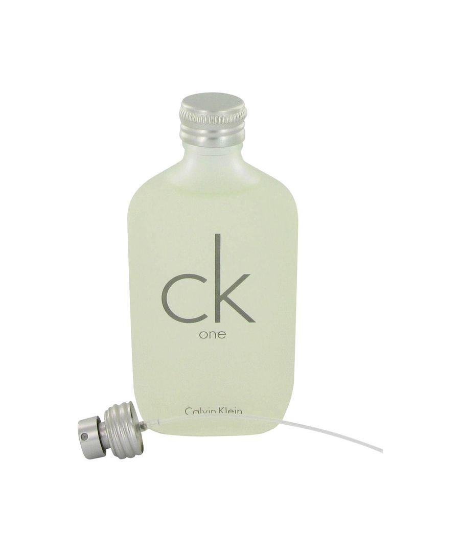 Image for Ck One Eau De Toilette Pour/Spray (Unisex unboxed) By Calvin Klein 100 ml