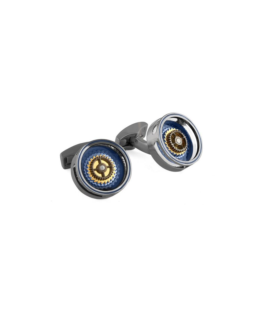 Image for Gear Bullseye cufflinks