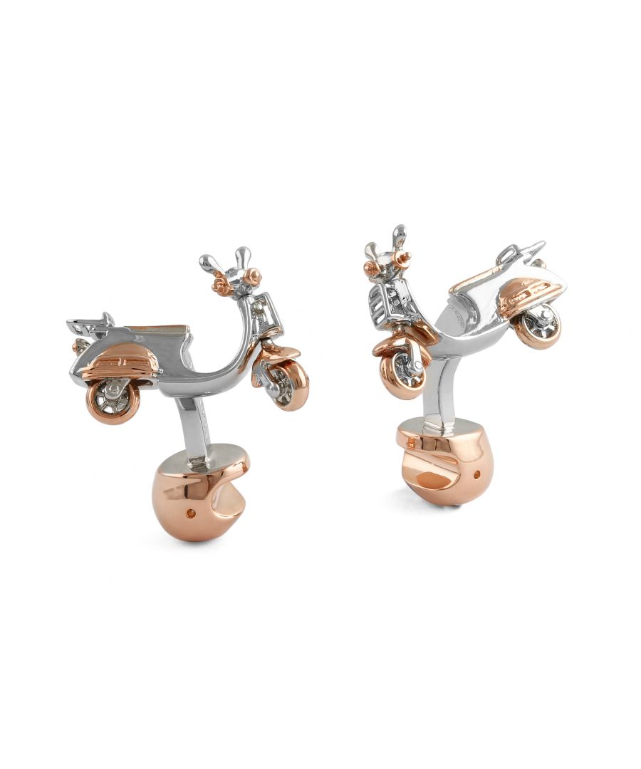 Image for Vespa dual-plated cufflinks