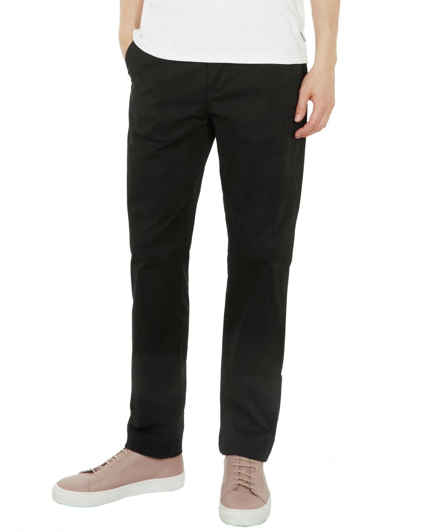 Image for Ted Baker Clasleb Classic Fit Chinos, Black