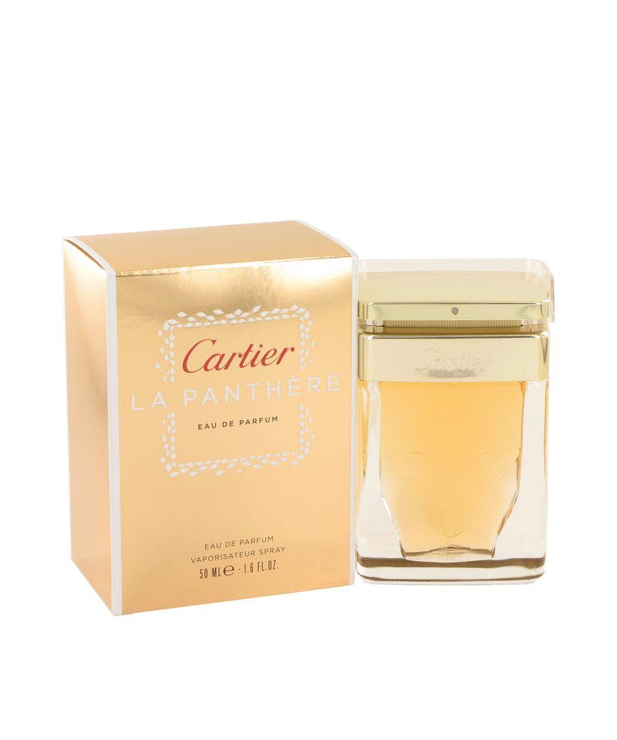 Image for Cartier La Panthere Eau De Parfum Spray By Cartier 50 ml