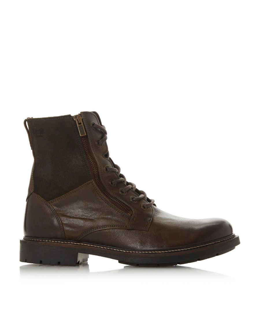 Image for Bertie Mens CLUB Shearling Worker Boots