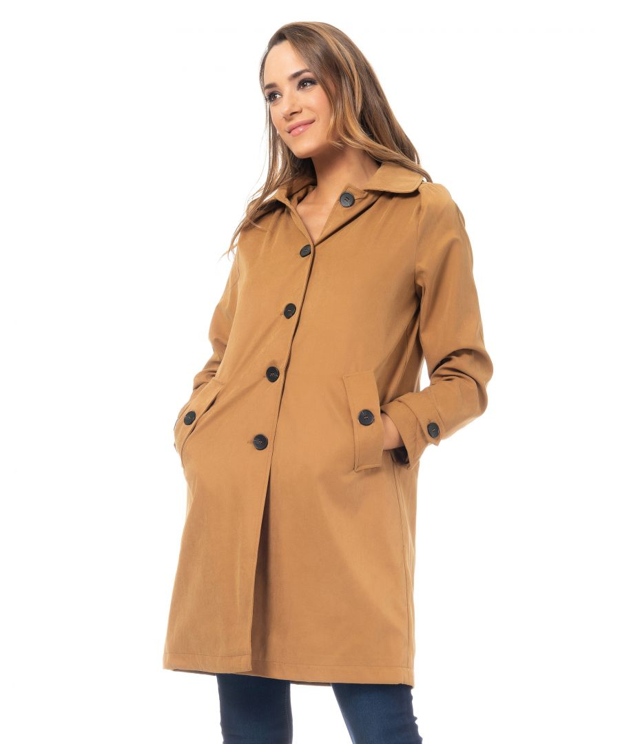Image for Raincoat with Hood and Pockets