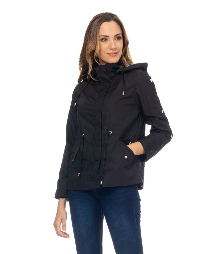 Image for Raincoat With Tacks In The Sleeves And Elastic Waist