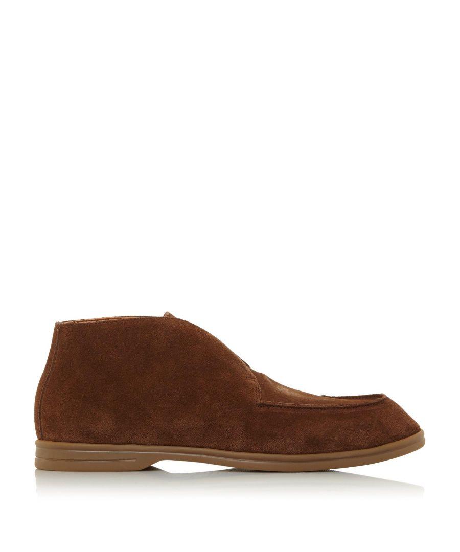 Image for Dune Mens COCOA Low Block Heel Boots