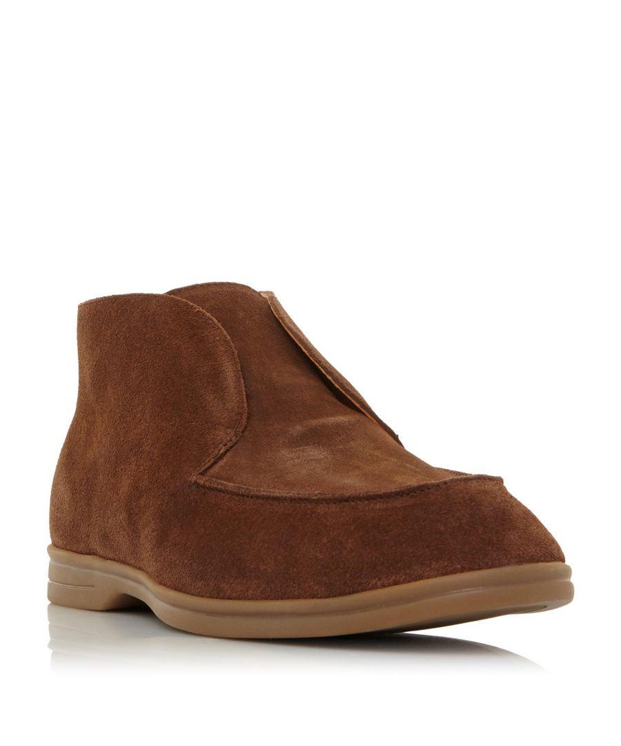 Image for Dune Mens COCOA Low Block Heel Boot