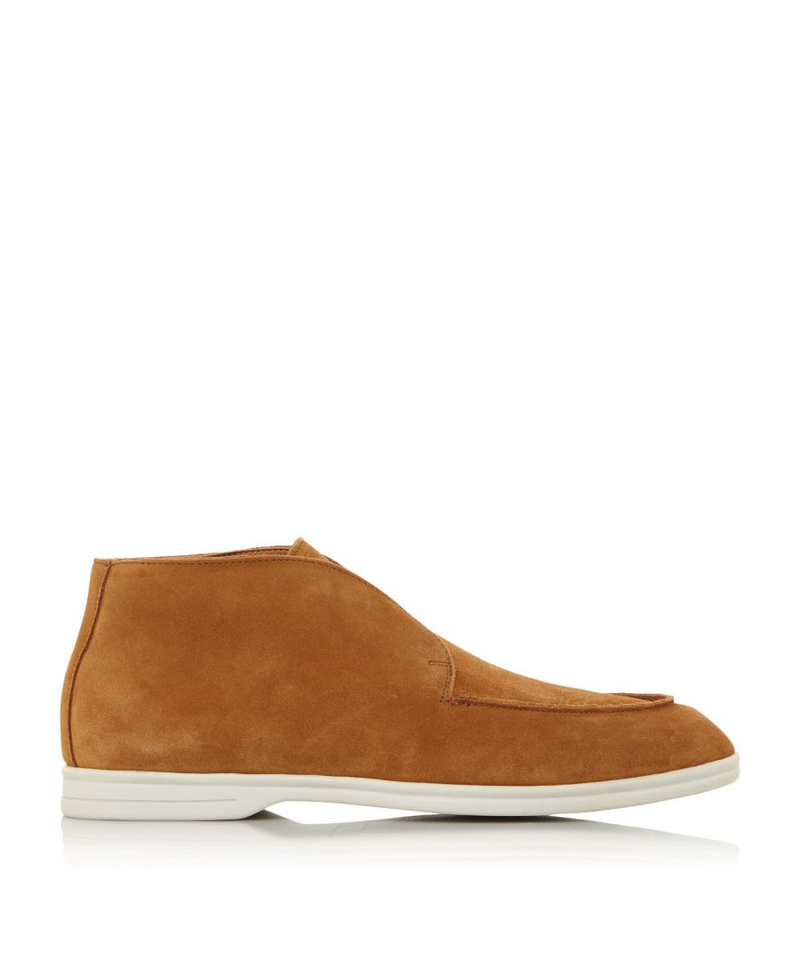 Image for Dune Mens COCOA Low Block Heel Boots