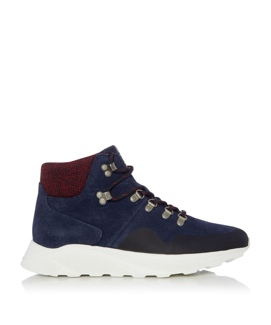 Image for Dune Mens COL Knit Collar Hiker Boots