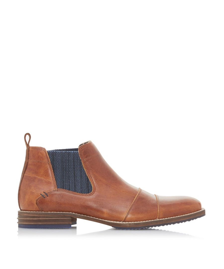 Image for Dune Mens COMISTON Double Toecap Chelsea Boots